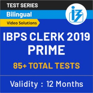 IBPS Clerk Reasoning Ability Quiz: 19th September_50.1