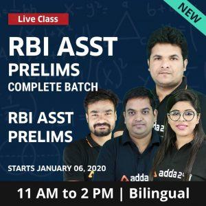 English Quiz RBI Assistant Prelims: 30th December 2019_50.1