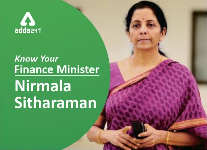 Nirmala Sitharaman Meet The First Full Time Women Finance