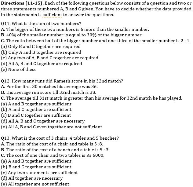 SBI Clerk Prelims Quant Daily Mock: 9th February 2020_100.1