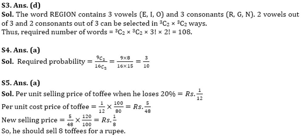 RBI Assistant Prelims Quantitative Aptitude Mini Mock-4: Caselet, and Word Problem_70.1