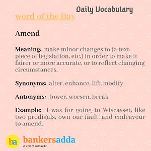 Daily Vocabulary : 12th February_50.1