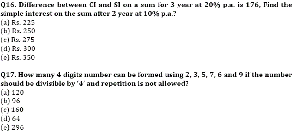 RBI Assistant Prelims Quantitative Aptitude Memory Based: Missing Series, Simplification and Word Problem_120.1