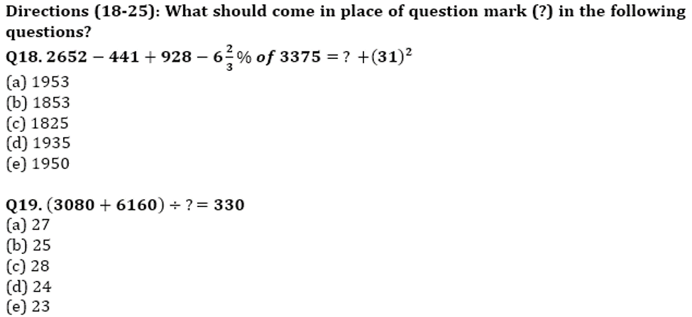 RBI Assistant Prelims Quantitative Aptitude Memory Based: Missing Series, Simplification and Word Problem_130.1
