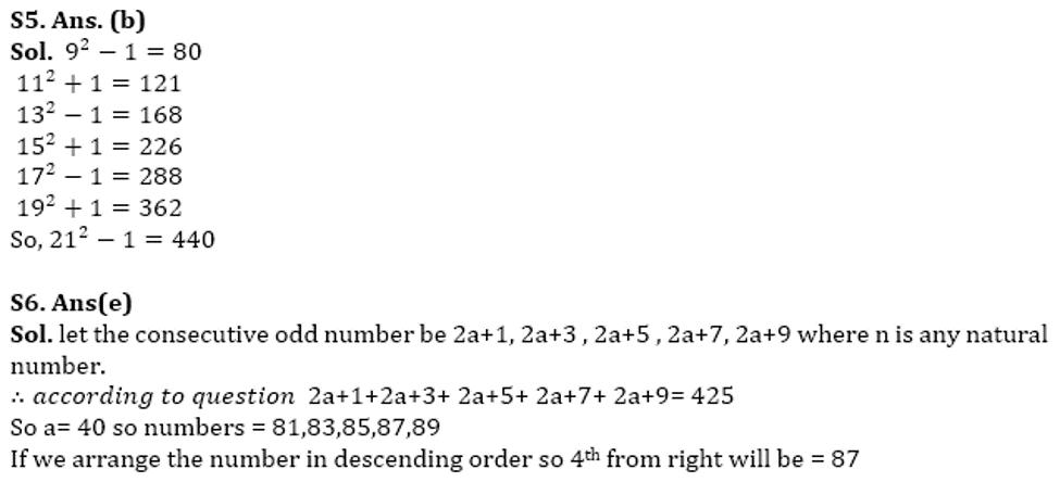SBI Clerk Prelims Quant Daily Mock: 15th February 2020_80.1
