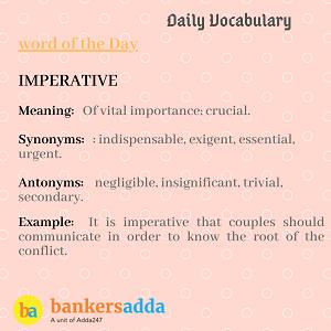 Daily Vocabulary : 16th February_50.1