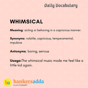 Daily Vocabulary: 3rd March_50.1