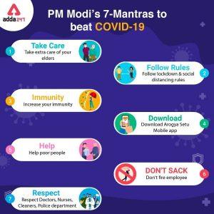 PM Modi's 7-Point Message to Fight COVID-19_50.1