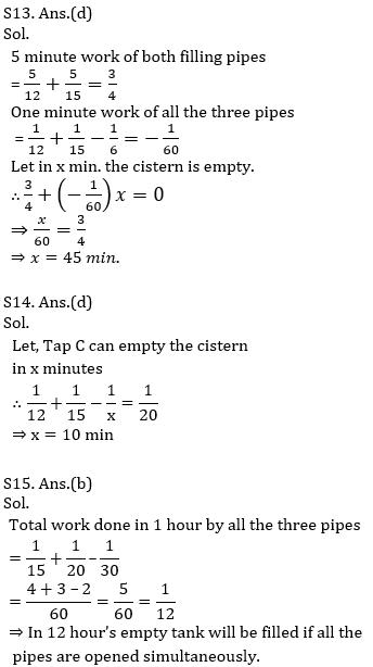 IBPS PO Prelims Quantitative Aptitude Mini Mock 9- Time & Work and Pipes & Cistern_200.1