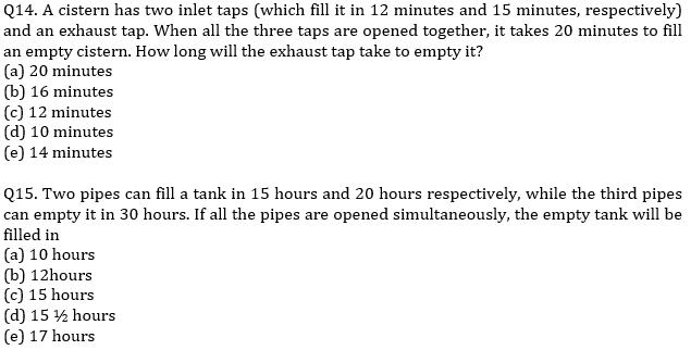 IBPS PO Prelims Quantitative Aptitude Mini Mock 9- Time & Work and Pipes & Cistern_110.1