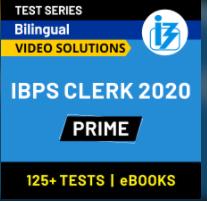 IBPS Clerk Mock Test 2020: Online Mock Test Series & Practice Set For IBPS Clerk Prelims_60.1