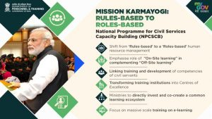What is Mission Karmyogi for Civil Servants of India and how will it build them Future Ready?_80.1