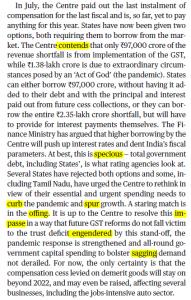 The Hindu Editorial Vocabulary- Grim Sovereign Tangle | 3 September_60.1