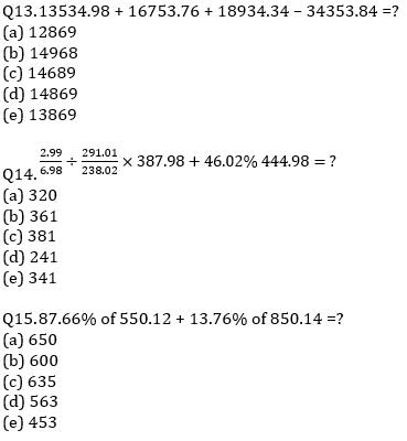 IBPS RRB Prelims Quantitative Aptitude Mini Mock 5- Approximation_80.1