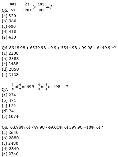 IBPS RRB Prelims Quantitative Aptitude Mini Mock 5- Approximation_60.1