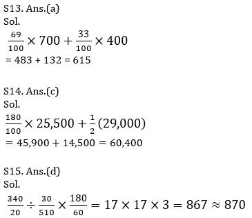 IBPS PO Prelims Quantitative Aptitude Mini Mock 19- Practice Set_140.1
