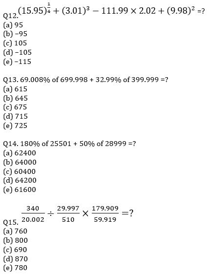 IBPS PO Prelims Quantitative Aptitude Mini Mock 19- Practice Set_90.1