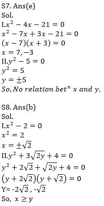 IBPS RRB Prelims Quantitative Aptitude Mini Mock 6- Quadratic Inequalities_110.1