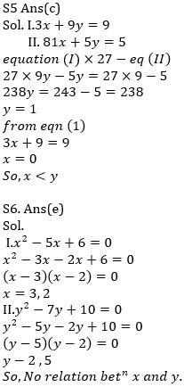 IBPS RRB Prelims Quantitative Aptitude Mini Mock 6- Quadratic Inequalities_100.1