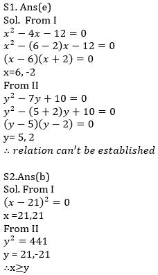 IBPS RRB Prelims Quantitative Aptitude Mini Mock 6- Quadratic Inequalities_80.1