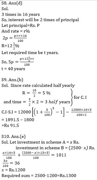 IBPS PO Prelims Quantitative Aptitude Mini Mock 20- Practice Set_130.1