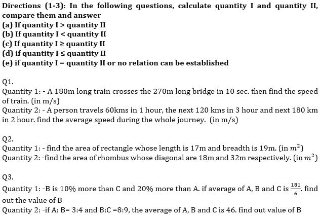 IBPS RRB Prelims Quantitative Aptitude Mini Mock 7- Caselet, Data Sufficiency and Quantity Based_50.1