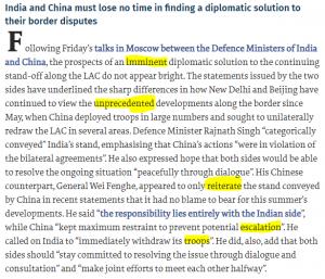 The Hindu Editorial Vocabulary- Too Close for Comfort | 7 September_50.1