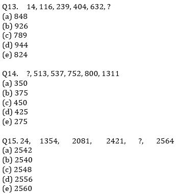 IBPS RRB Prelims Quantitative Aptitude Mini Mock 9- Simplification and Missing Series_90.1