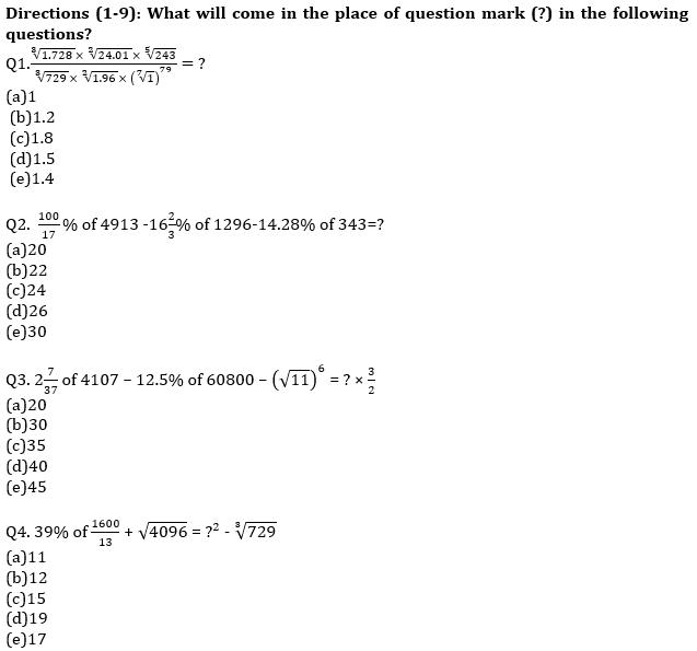 IBPS RRB Prelims Quantitative Aptitude Mini Mock 9- Simplification and Missing Series_60.1