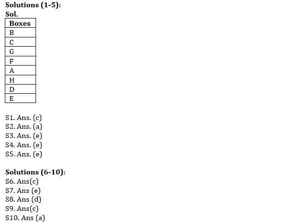 IBPS RRB Prelims Reasoning Ability Mini Mock 8- Puzzle & Syllogism_50.1