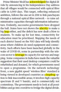 The Hindu Editorial Vocabulary- Digital Disconnect | 10 September_60.1