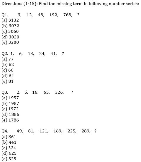 IBPS PO Prelims Quantitative Aptitude Mini Mock 24- Missing Series_60.1