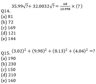IBPS RRB Prelims Quantitative Aptitude Mini Mock 11- Quadratic Inequalities and Approximation_90.1