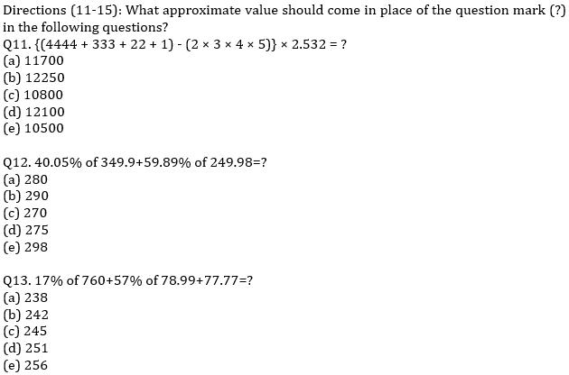 IBPS RRB Prelims Quantitative Aptitude Mini Mock 11- Quadratic Inequalities and Approximation_80.1