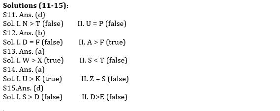 IBPS PO Prelims Reasoning Ability Mini Mock 25- Puzzle & Coding-Decoding_70.1
