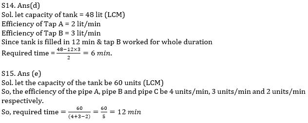 IBPS PO Prelims Quantitative Aptitude Mini Mock 25- Mixture & Allegation, Time & Work and Pipes & Cisterns_150.1