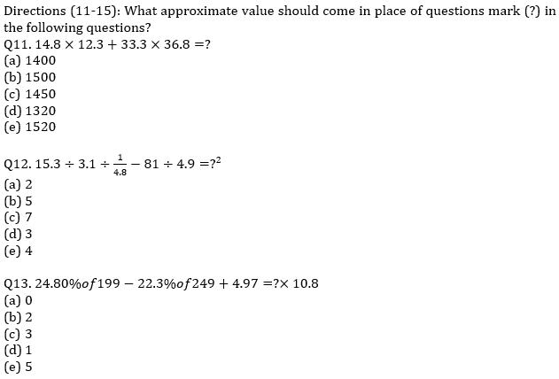 IBPS PO Prelims Quantitative Aptitude Mini Mock 26- Practice Set_90.1