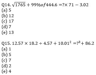 IBPS PO Prelims Quantitative Aptitude Mini Mock 26- Practice Set_100.1