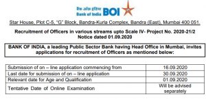 BOI Officer Recruitment 2020 Out for 214 Vacancies @bankofindia.co.in, Online Application Starts on 16 September_60.1