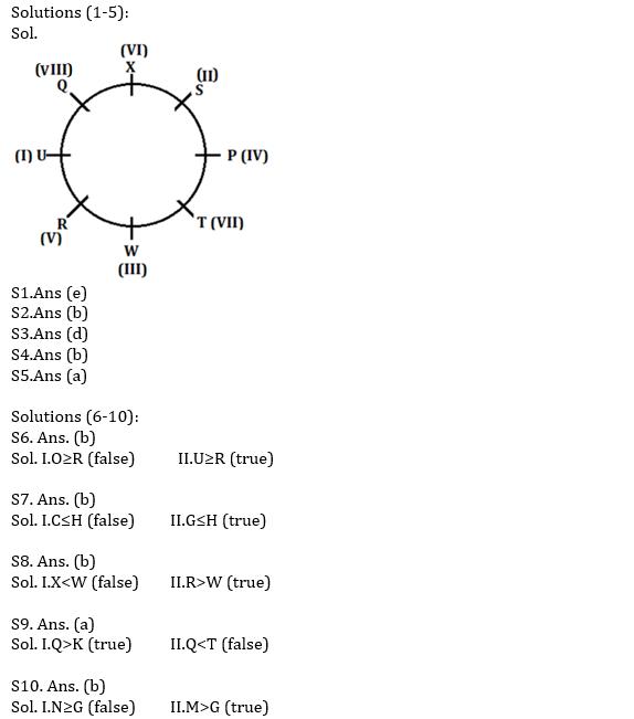 IBPS PO Prelims Reasoning Ability Mini Mock 30- Puzzle, Inequalities & Coding-decoding_50.1