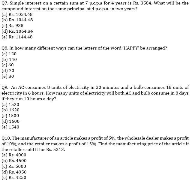 IBPS RRB Prelims Quantitative Aptitude Mini Mock 13- Word Problem_80.1