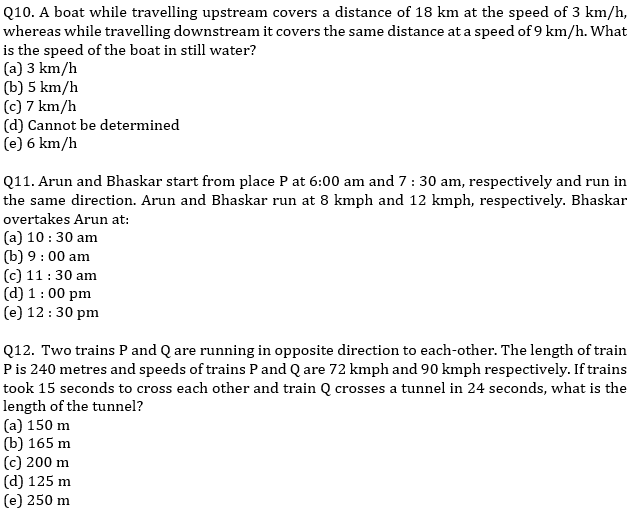 IBPS PO Prelims Quantitative Aptitude Mini Mock 32- Speed Time Distance_90.1