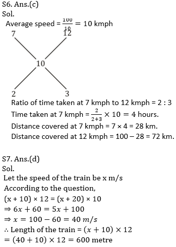 IBPS PO Prelims Quantitative Aptitude Mini Mock 32- Speed Time Distance_130.1