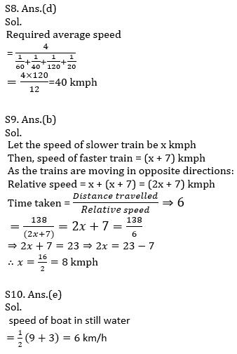 IBPS PO Prelims Quantitative Aptitude Mini Mock 32- Speed Time Distance_140.1
