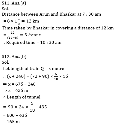 IBPS PO Prelims Quantitative Aptitude Mini Mock 32- Speed Time Distance_150.1
