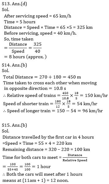 IBPS PO Prelims Quantitative Aptitude Mini Mock 32- Speed Time Distance_160.1