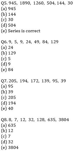 IBPS PO Prelims Quantitative Aptitude Mini Mock 31- Wrong Series_60.1