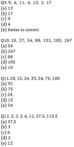 IBPS PO Prelims Quantitative Aptitude Mini Mock 31- Wrong Series_70.1