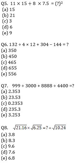 IBPS RRB Prelims Quantitative Aptitude Mini Mock 15- Simplification_70.1