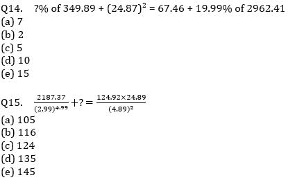 IBPS PO Prelims Quantitative Aptitude Mini Mock 34- Practice Set_90.1